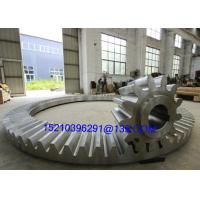 China Custom Right Angle Stainless Steel Bevel Gears , Bevel Helix Gear Wheel on sale