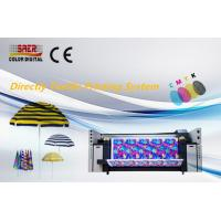 Best Roll To Roll Digital Fabric Printing Machine / Direclty Textile Printing System wholesale