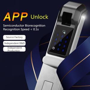 China Smart Fingerprint Lock / Electronic Password Lock For Anti - Theft Door on sale