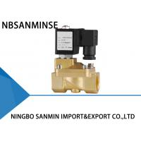 Best Custom PM 2 / 2 Way Brass Solenoid Valve Latching Solenoid Valve For Gas wholesale