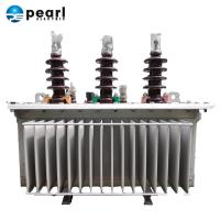 Best 300 Kva Oil Immersed Distribution Transformer With Arcing Hon And Busing wholesale