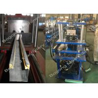 Best Metal Rolling Shutter Door Roll Forming Machine 3KW Hydraulic Cutting wholesale