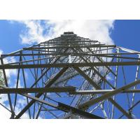 China Custom Wind Speed Angle Steel Tower ISO18001 Approval 30 Years Lifespan on sale