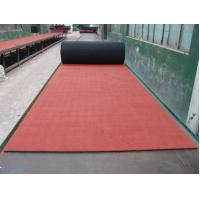 Best Elasticity EPDM Rubber Sheet , Red Rubber Paver Track Surface wholesale