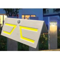Best Fashion Motion Sensor Solar Garden Light , Solar Patio Wall Lights Sun Resistance wholesale