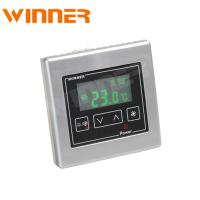 China Square Shaped Digital Room Thermostat With Intelligent Fuzzy Control on sale