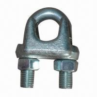Best JIS-/A-type Cast Malleable Wire Rope Clip, Rigging Hardware wholesale