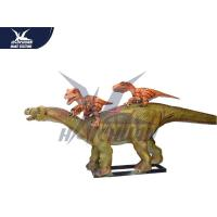 China Life Size 3d Animated Dinosaur Model Decoration For Playground / City Center on sale