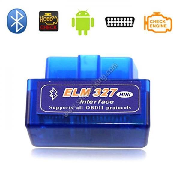 Cheap Mini ELM327 Bluetooth OBD2 Reader Adaptor Icar Mini OBD2 Scanner for sale