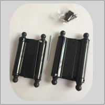 Best Powder Coating Spring Loaded Hinges , Screen Door Spring Hinges 1.2mm Thickness wholesale