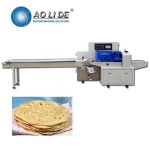 Best Automatic high speed flow food Arabic Lavash flat bread pita chapati flowpack packing machine wholesale