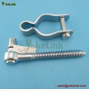 "Best Chain Link Gate Frame Hinge - For Pipe Frames 1-7/8"" Female Gate Hardware Hinge wholesale"