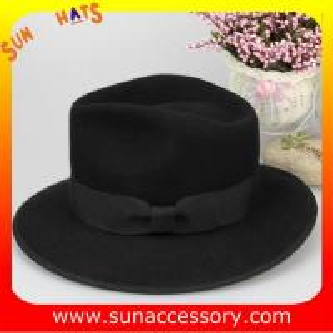 Best 4630376 Sun Accessory customized  winner  fashion 100% wool felt  fedora  hats,unisex hats and caps wholesaling wholesale