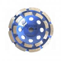 Best Double Row Diamond Grinding Wheel For Fast Grinding Mid Hard Concrete wholesale