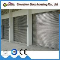 Best Automatic operation galvanised finished and vertical rolling industrial door wholesale