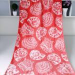 Best Seashell Linen Beach Towels / 100% Combed Cotton Bath Towel For Silver Wamsutta wholesale