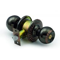 Best 5874BN-AC Cylindrical knobset Door lock with 70mm Rosette wholesale