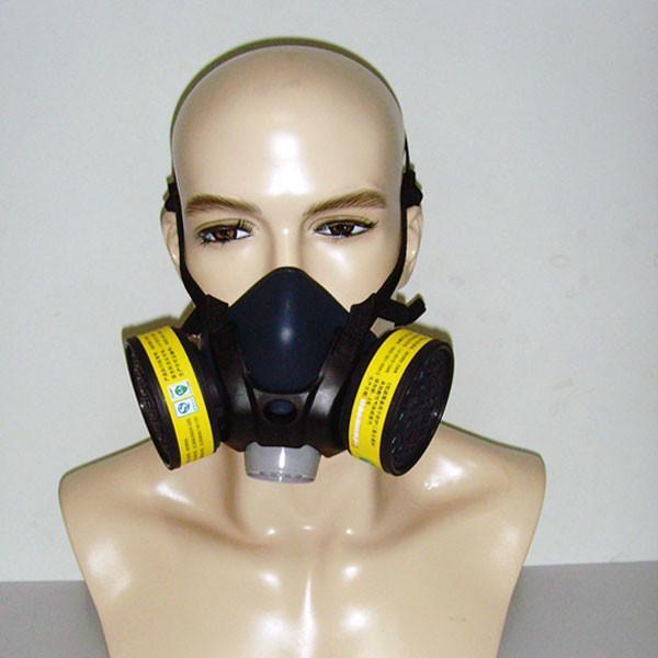 Cheap comfortable silicon half mask respirator for sale