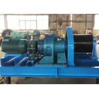 Best Heavy Duty 20 Ton 25 Ton Material Lifting Diesel Engine Powered Steel Wire Rope Winch wholesale