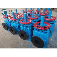 Buy cheap Zero Leakage Red NR Sleeve Pinch Valves For Power Station from wholesalers
