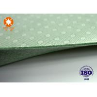 Best Laminated Nonwoven Fabric Needle Punched Felt Backing With PVC Dots 4m Width wholesale