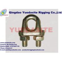 China Malleable  wire rope clips Type A on sale