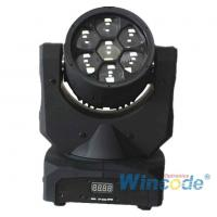 Best Smart Control LED Moving Head Light 7*10W 0-100% Linear Dimmer With 16 Bit wholesale