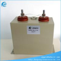 China 500uF 1500VDC High voltage capacitor locomotive pulse capacitor on sale