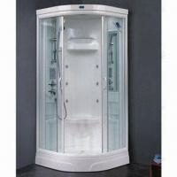 Best Steam Shower Room with Acrylic Wall Panel, Aluminum Frame and 6mm Tempered Glass wholesale