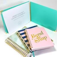 Best Custom Printing Personalised Stationery Gifts For Kids Hardcover Daily Planner Notebook wholesale