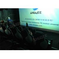 Best Ergonomic 5D Theater System Motion Durable Seats In Commercial Center wholesale