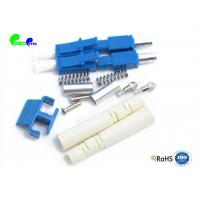 Best Low Insertion Loss LC UPC Duplex SM Connector 2.0mm Boot Match With 1.6mm / 2.0mm Cable wholesale