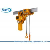 Best Super Low Type Electric Chain Hoist 380V / 220V Voltage Lifting Height 3 - 10m wholesale