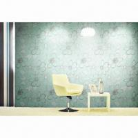 Buy cheap Wallpaper, made of PVC, foaming and nonwoven from wholesalers