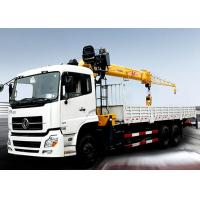 Buy cheap Durable compact Knuckle Boom Truck Crane , hydraulic truck crane SQZ500K 18ton product