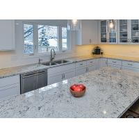 China Polished Grey Natural Granite Countertops For Kitchen Cabinet on sale