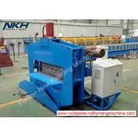 Best Blue Roofing Sheet Crimping Machine , Hydraulic Crimp Panel Curving Machine wholesale