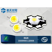 China 140LM 1 Watt High Power White LED Diode LM-80 Certified for Tunnel Light on sale