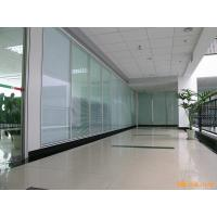 Best Acoustic Insulation Office Glass Partition Systems , Glass Bathroom Partition Walls wholesale