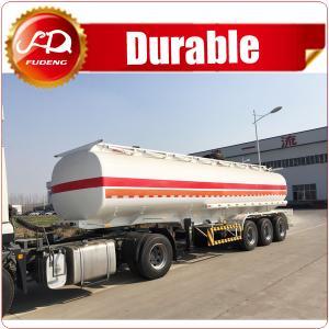 Best 6 compartments 45000L oil tank fuel tanker semi trailer in stock for sale wholesale