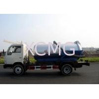 China Self-Flow Emission Special Purpose Vehicles , Septic Pump Truck For Transporting Feces & Sludge & Screes on sale