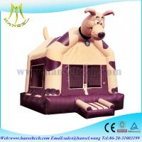 China Hansel Car Theme Factory Bouncers Bounce House ,Inflatable dog Bouncy Castle For Sale on sale