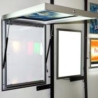 China Acrylic Indoor / Outdoor Backlit Sign Box Front Light Customized Shape on sale