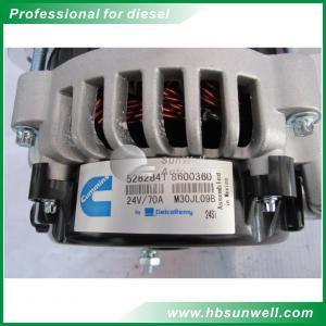 Best Genuine diesel engines parts QSX15 24V 70A generator alternator 5282841 wholesale