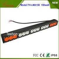 Cheap 27.2 inch 150W CREE LED light bar single row in optional spot/flood/combo beam for sale