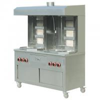 Best Cabinet Type 6-burners Commercial Gas Kebab Shawarma Grill for Restaurant wholesale