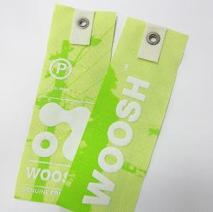 Best OK3D Custom  Blinkblink Hologram Sticker 3D Hangtag Paper Tag for garments and shoes wholesale