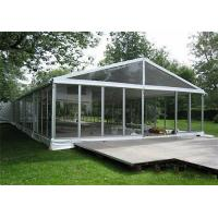 Buy cheap Aluminum Frame Clear Span Tents Transparent Wedding Tent With Glass Sidewalls product