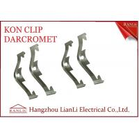 Best Electro Galvanized EMT Conduit Fittings NO 65 Manganese Steel Caddy Clip Kon Clip wholesale