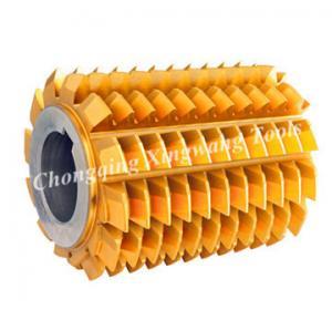 Best HSS DP Hobbing Tools DIN3972 Standard Involute Gear Hob Cutter wholesale
